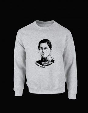 Bluza Ecaterina Teodoroiu - culoare gri