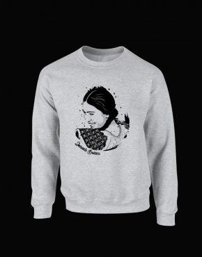 Bluza cu Smaranda Braescu - culoare gri