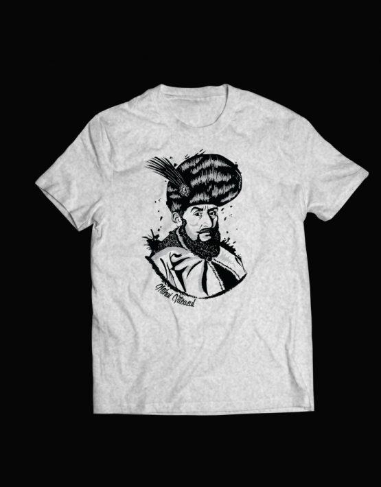 tricou gri Mihai Viteazul