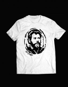 tricou alb Ion Creanga