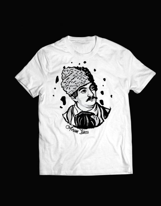 tricou alb  Avram Iancu