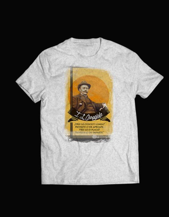 tricou gri I Luca Caragiale