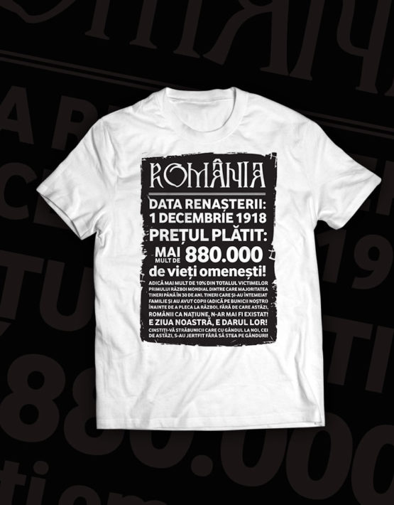 tricou-alb-mesaj-romania