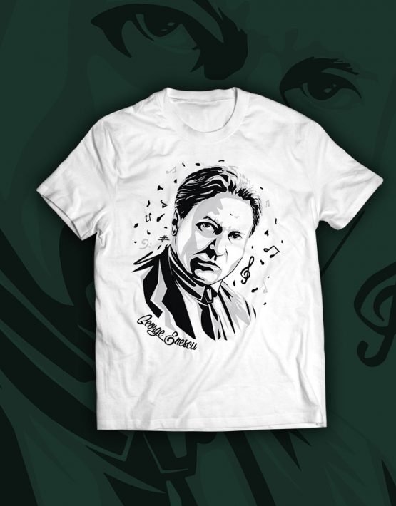 tricou-alb-George-Enescu